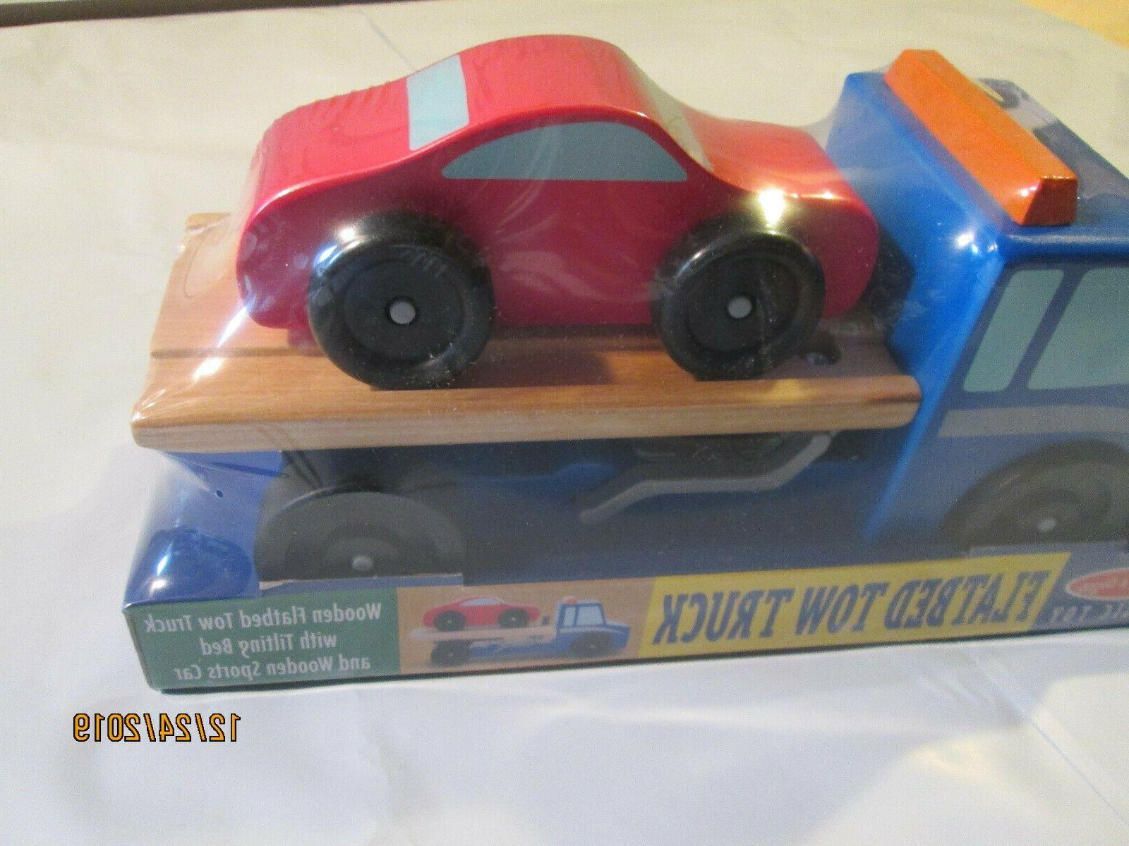 MELISSA FLATBED TRUCK TOY