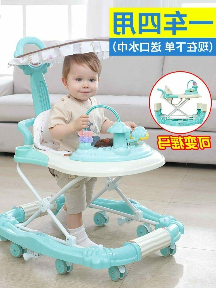 Multi-function Baby Anti-rollover Walker Baby Toys