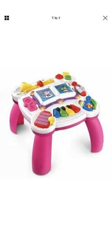 LeapFrog Musical Table Toddler Toy Activity Pink Packaging N