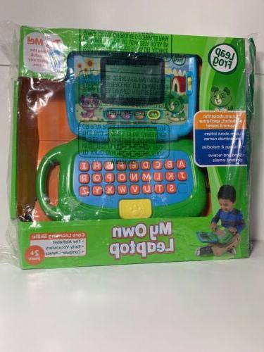 my own leaptop laptop toy green educational
