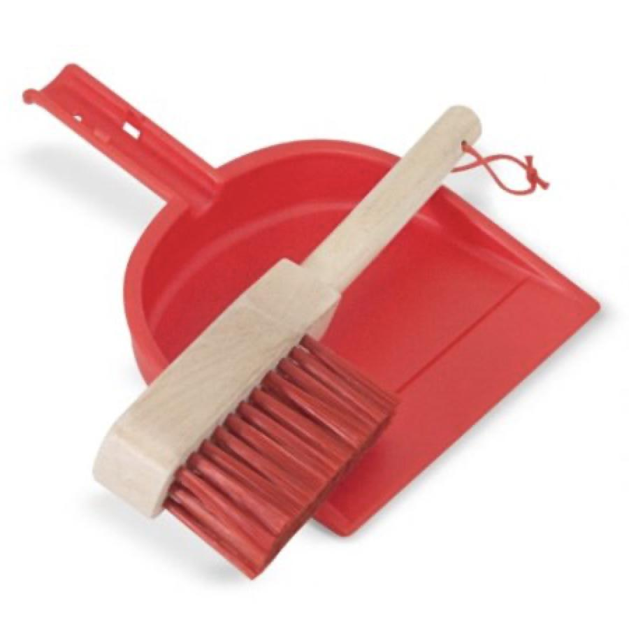 NEW! Let's Play House Dust! Sweep! 6-Piece Play Set
