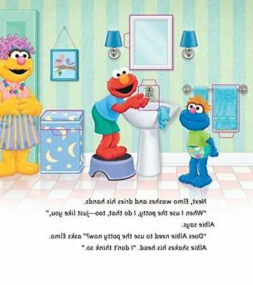 P is for Sesame Street book
