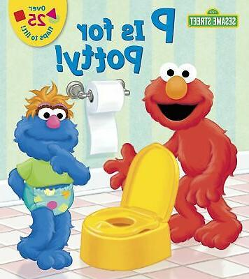 p is for potty sesame street lift