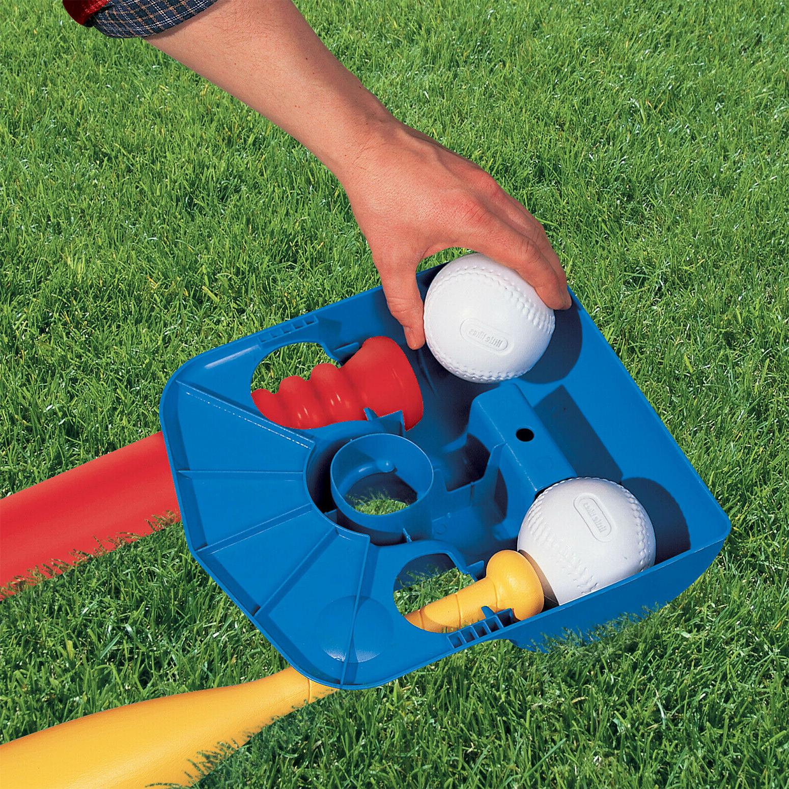 T-Ball Set Little Toys 2 Ball Tee Game Funny Play