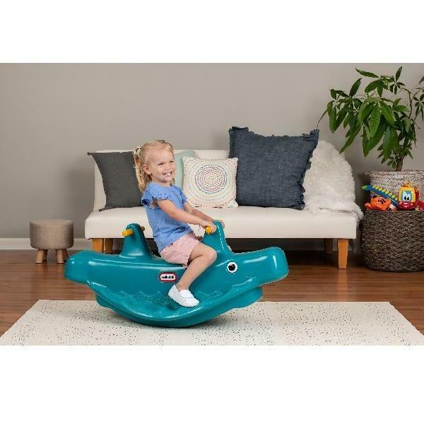 Teeter Totter Whale Toddlers Outdoor
