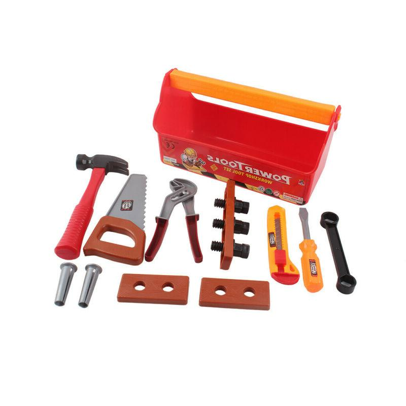 Toddler Tool Box Girl Drill Learning