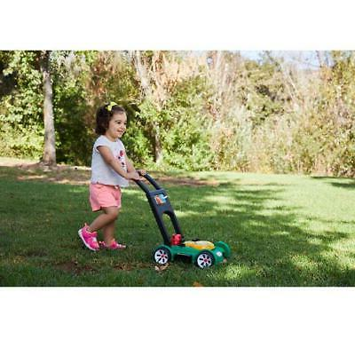 Little Tikes Toddler N Lawn Push Mower Toy w/ Sounds, Green