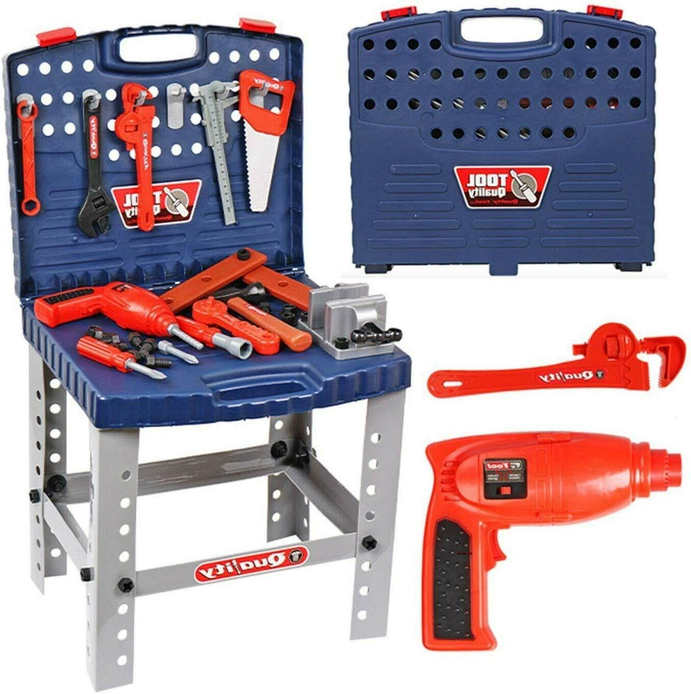 Toddler Workbench Toy Play Pretend Girl Kid Learning