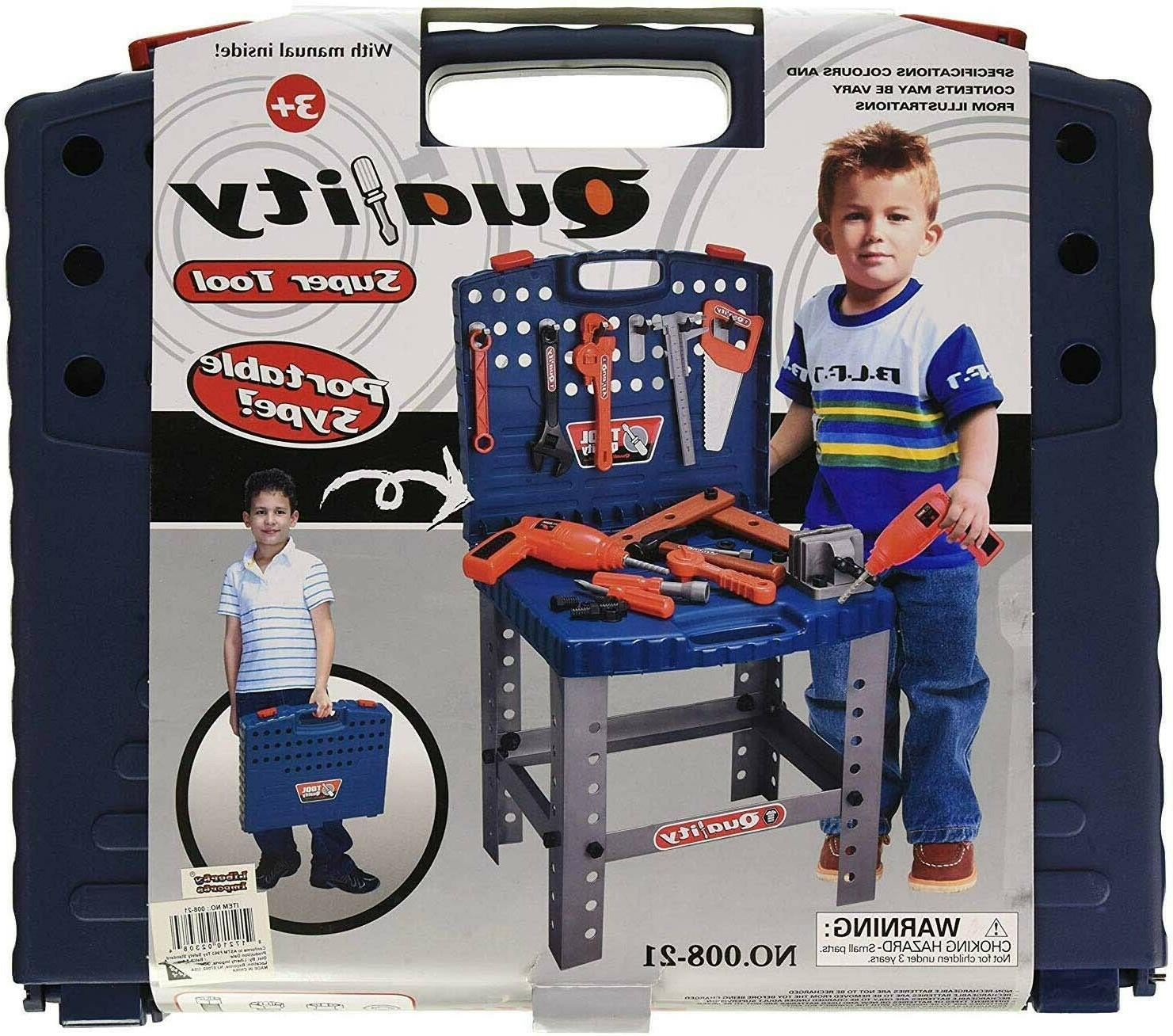 Toddler Workbench Tool Toy Learning