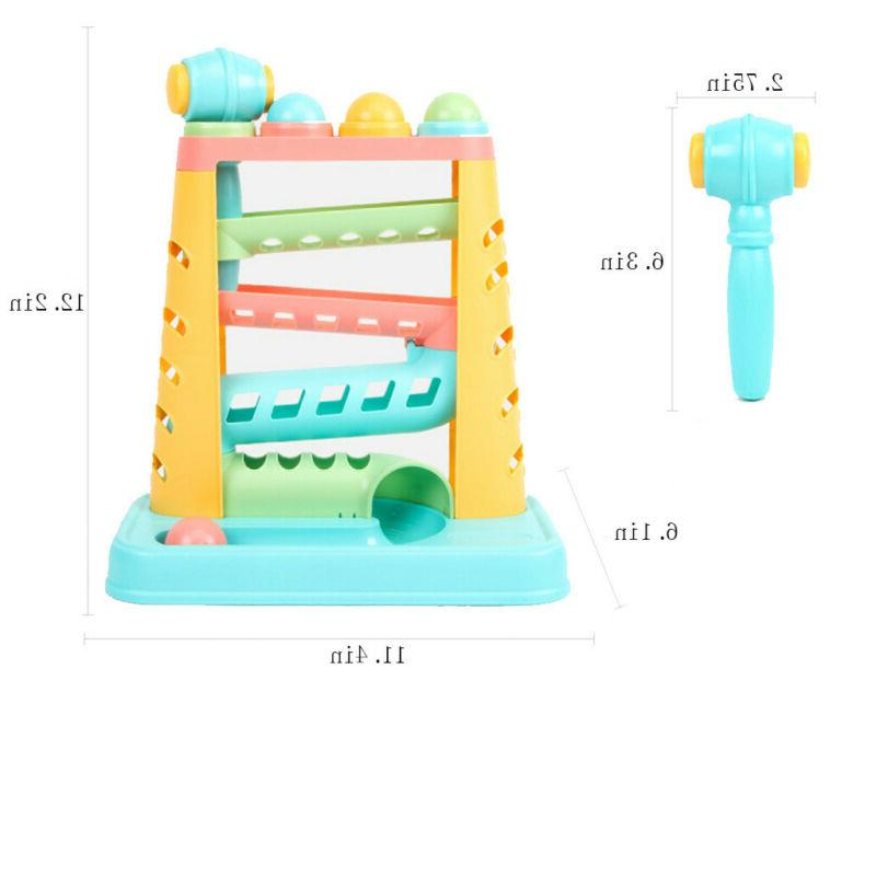 For Toddlers Baby Toy Hammer 4