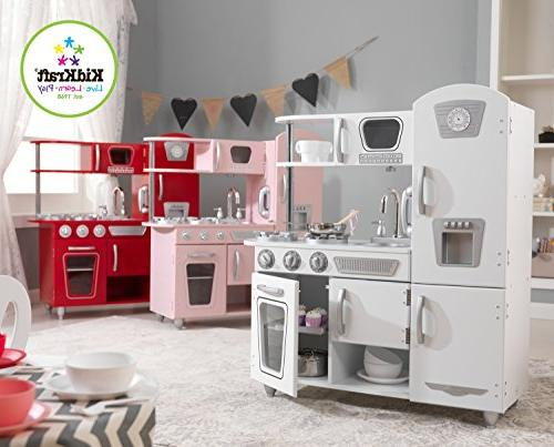 KidKraft Play Kitchen in and oven doors open and
