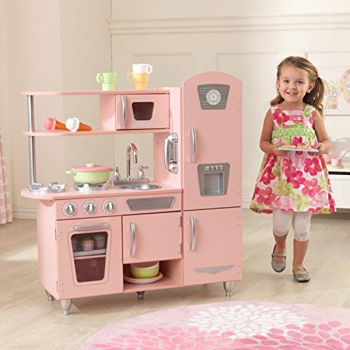 KidKraft Kitchen in and oven doors and close