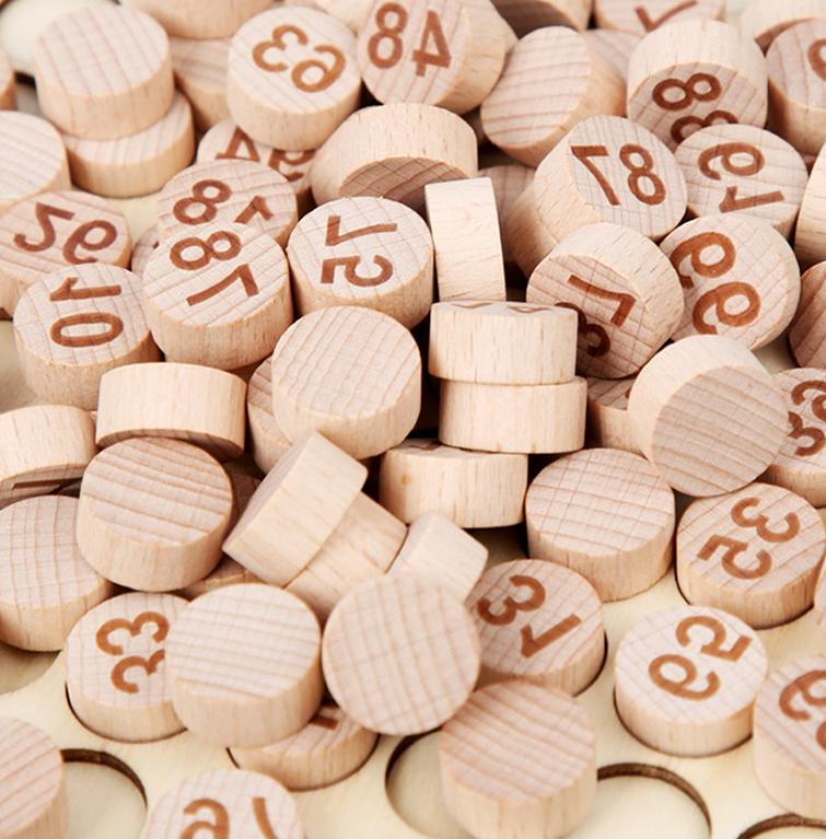 Wooden Alphabet Number Early Learning 2