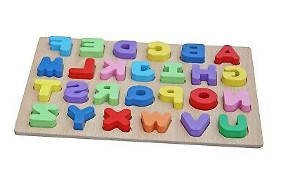 Timy Alphabet Puzzle Board for Toddlers Early