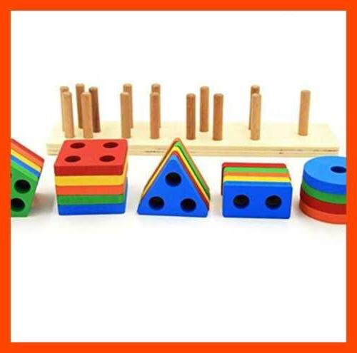 Wooden Toys 1 3 5 Old Shap