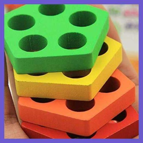 Wooden Educational Toddler Toys For 3 Year Old Boys