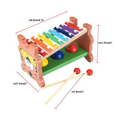 Wooden Pounding Toys Game Toddler