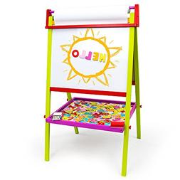 Little Artists 3-in-1 Standing Easel   Includes 75 Magnetic