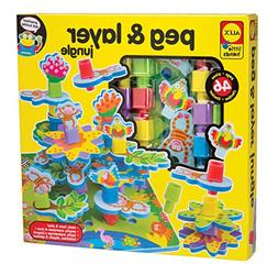 ALEX Toys Little Hands Peg and Layer Jungle