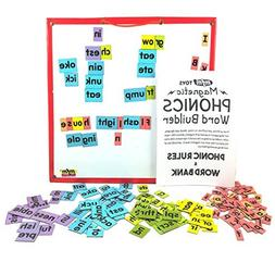 MFM TOYS Magnetic Phonic Word Builder Tiles  Ages 6+ 170 Mag