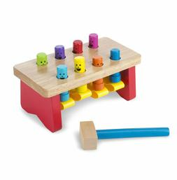 melissa and doug deluxe pounding bench toddler