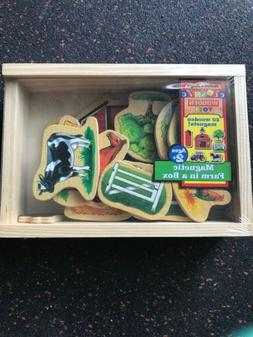 melissa and doug magnetic set farm in