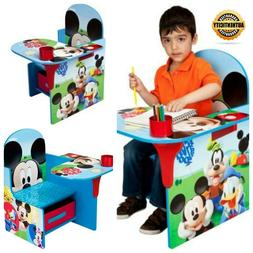 Disney Mickey Mouse Durable Chair Desk with Storage Bin by D
