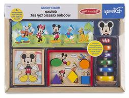 Melissa & Doug Mickey Mouse & Friends Deluxe Wooden Classic