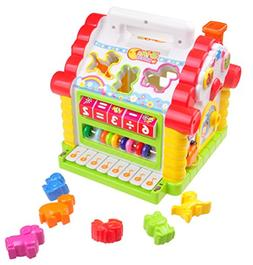 Musical House Learning Toy For Toddlers TG665 - Children's