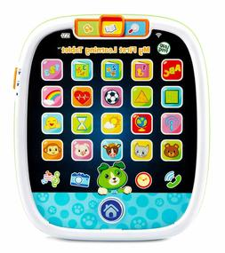 LeapFrog My First Learning Tablet, White and green, kid-toug