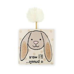 NEW Jellycat If I Were a Bunny Board Book Baby Toddler touch
