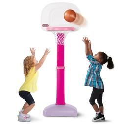 NEW Little Tikes TotSports Easy Score Basketball Set Pink To