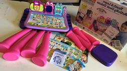 NEW! VTech Touch and Learn Activity Desk Deluxe, Pink Editio
