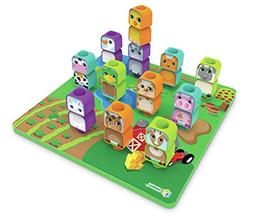 Learning Resources Peg Friends Stacking Farm Animals Set for