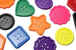 Large plastic button lacing Toy - Toddler Lacing, First Laci