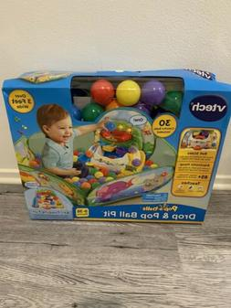VTech ~ Pop-a-balls ~ Drop & Pop Ball Pit   Green Baby Toys
