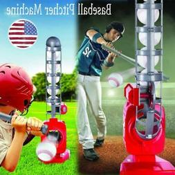 Portable Baseball Pitching Gaming Machine Toys for Kids Todd