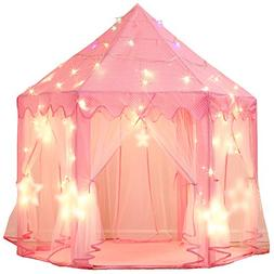 Wilwolfer Princess Tent Large Castle Playhouse for Children