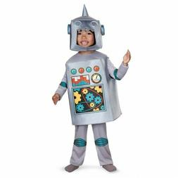 Disguise Retro Robot Toy Science Future Cyborg Toddlers Hall