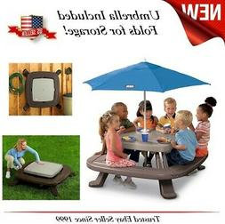 Toddler Little Tikes Child Picnic Play Outdoor Table Storage