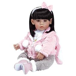 """Adora Toddler """"Cottontail"""" Doll 20"""" Girl Weighted Doll Gift"""