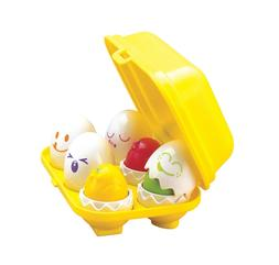 TOMY Toys Hide & Squeak Eggs , Eggs Toy for Kids Recognition