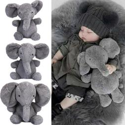 US Elephant Stuffed Animal Plush Toy Dolls for Kids Baby Bed