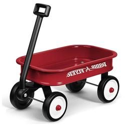 wagon toy durable rolling wheels pull along