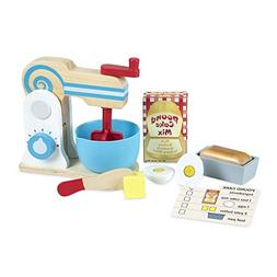 Melissa & Doug® Wooden Make-A-Cake Mixer Set
